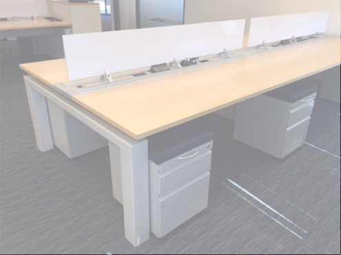 Used Teknion Benching 6x4 Low Panels Used Cubicles