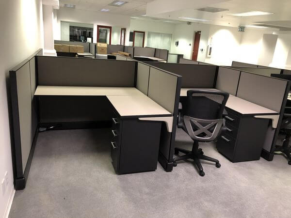 Used Friant System 2 - Low Panels - Used Cubicles