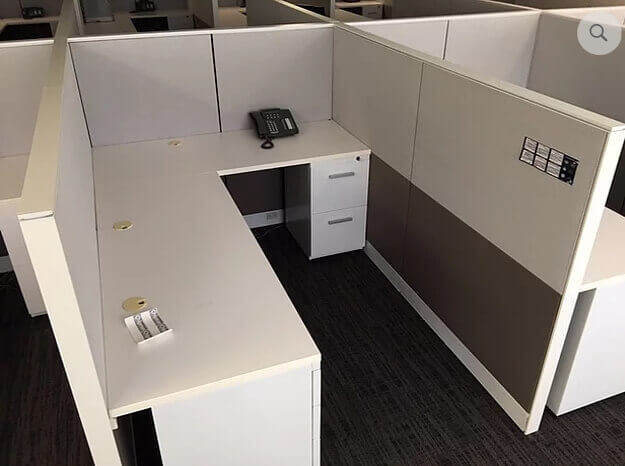 Used Friant Interra - Medium Panels - Used Cubicles