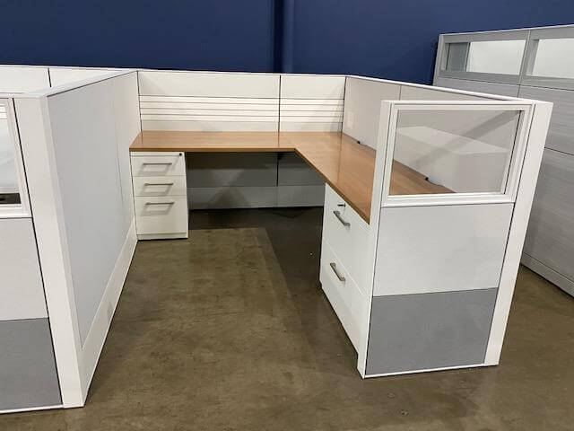Used Haworth Compose - Medium Panels - Used Cubicles