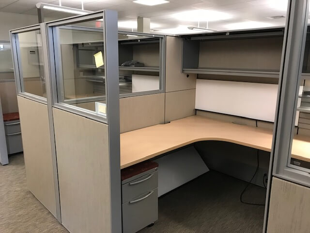 Used Haworth Compose - Tall Panels - Used Cubicles