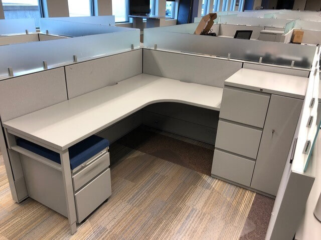 Used Haworth Compose - Low Panels - Used Cubicles
