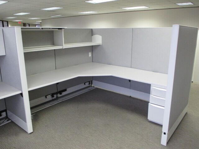 Used Haworth Premise Enhanced - Tall Panels - Used Cubicles