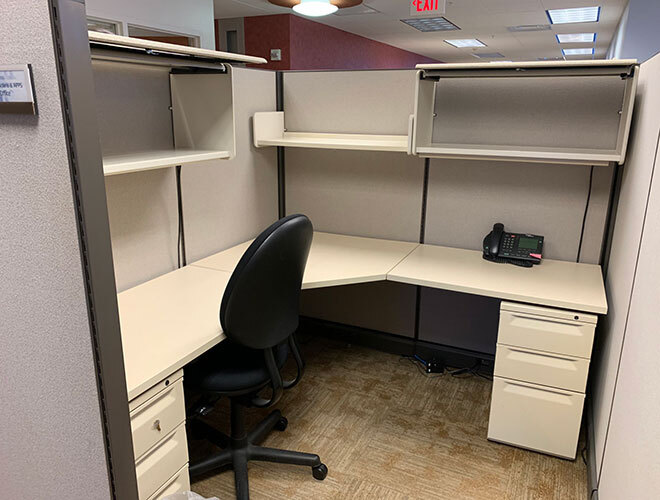 Used Herman Miller AO2 - Tall Panels - Used Cubicles