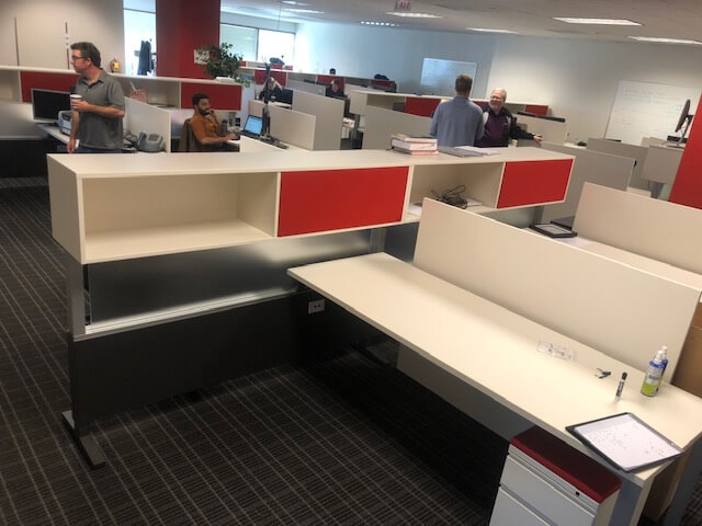 Used Herman Miller Canvas - Medium Panels - Used Cubicles