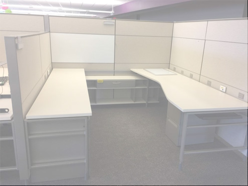 Used Herman Miller Canvas - Combo Panels - Used Cubicles