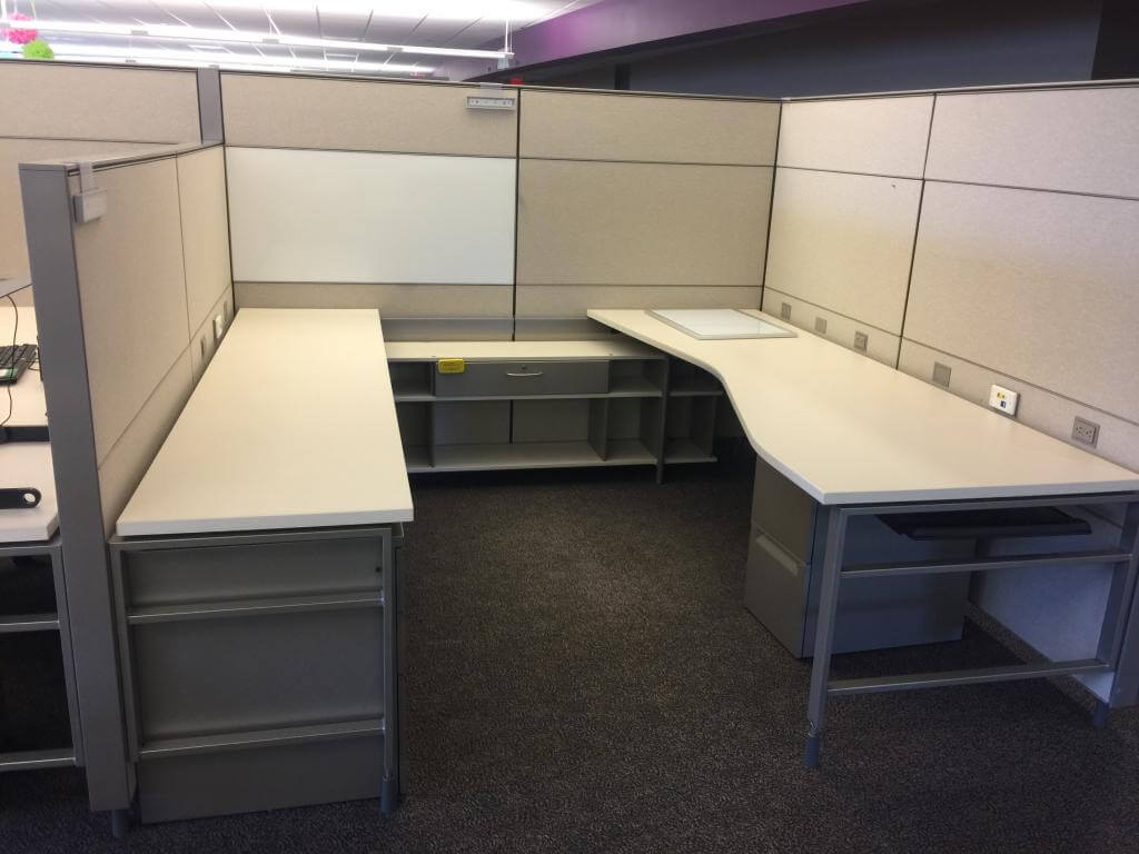 Used Herman Miller Canvas- Combo Panels - Used Cubicles