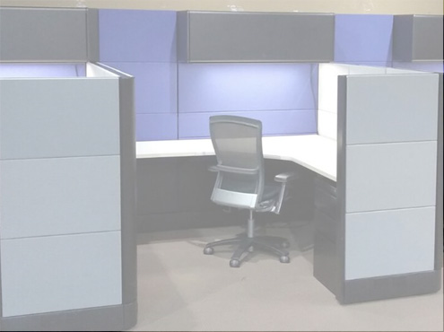 Used Herman Miller Ethospace - Combo Panels - Used Cubicles
