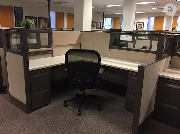 Used Herman Miller Q - Medium Panels - Used Cubicles