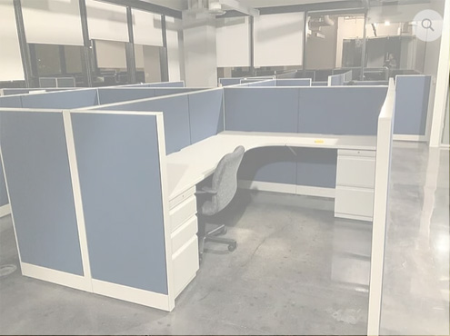 Used HON Accelerate - Medium Panels - Used Cubicles