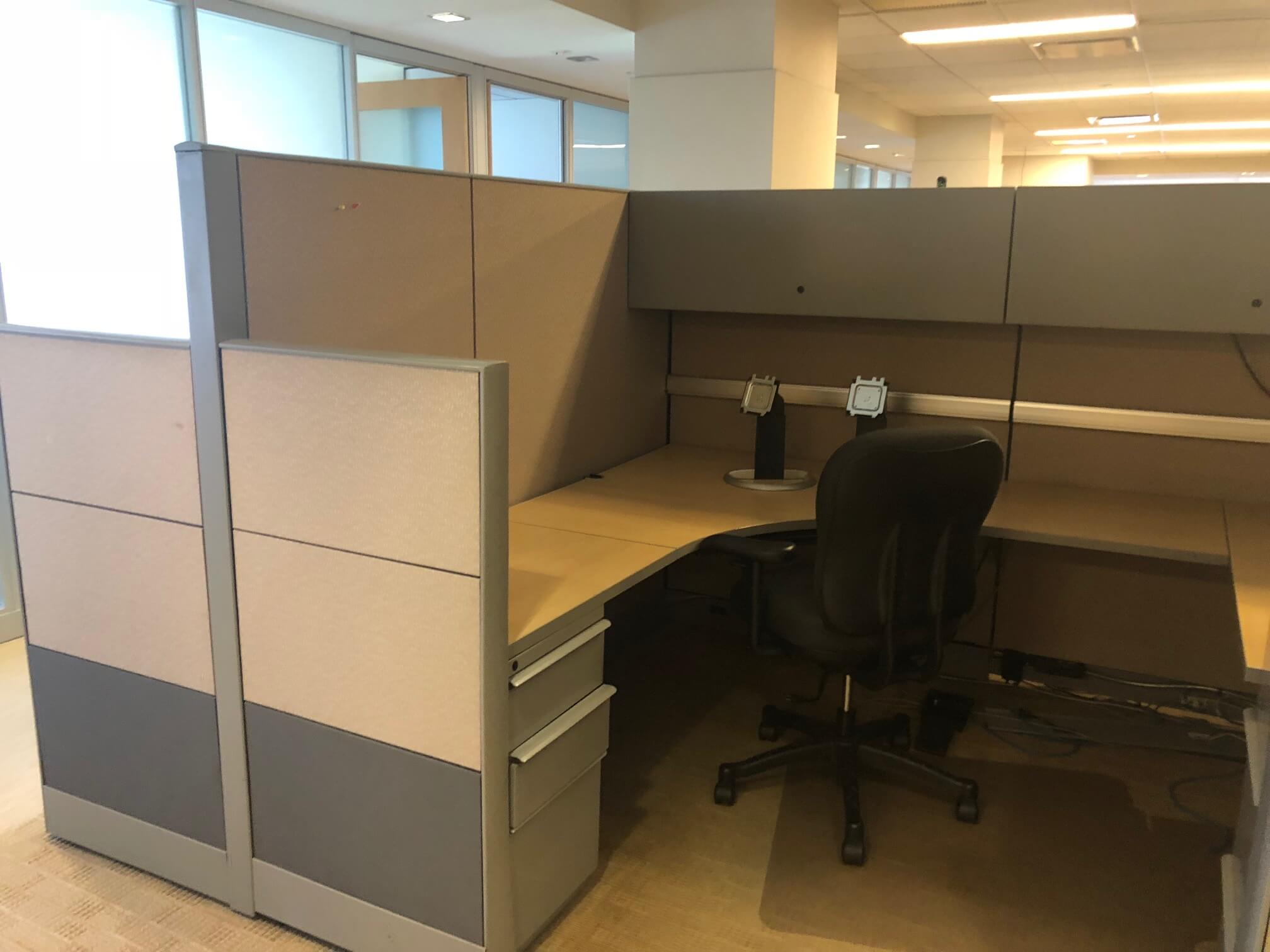 Used Knoll Dividends - Combo Panels - Used Cubicles