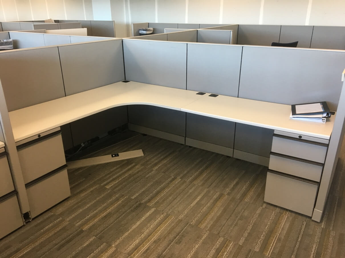 Used Knoll Morrison - Low Panels - Used Cubicles