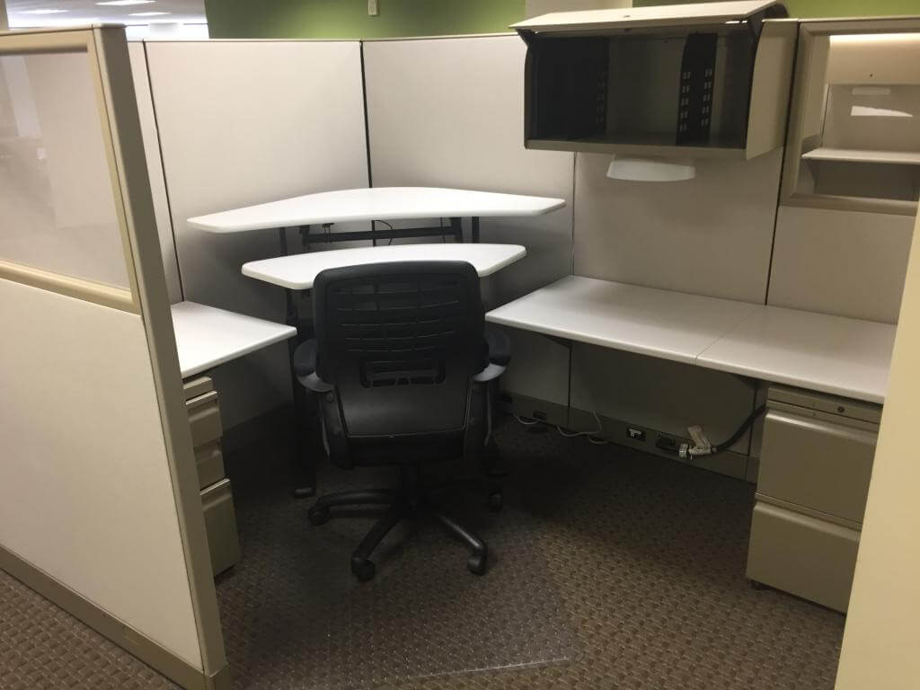 Used Knoll Morrison - Tall Panels - Used Cubicles
