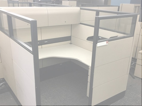 Used Knoll Reff - Tall Panels - Used Cubicles