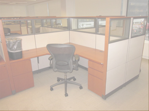 Used Knoll Reff - Meduim Panels - Used Cubicles