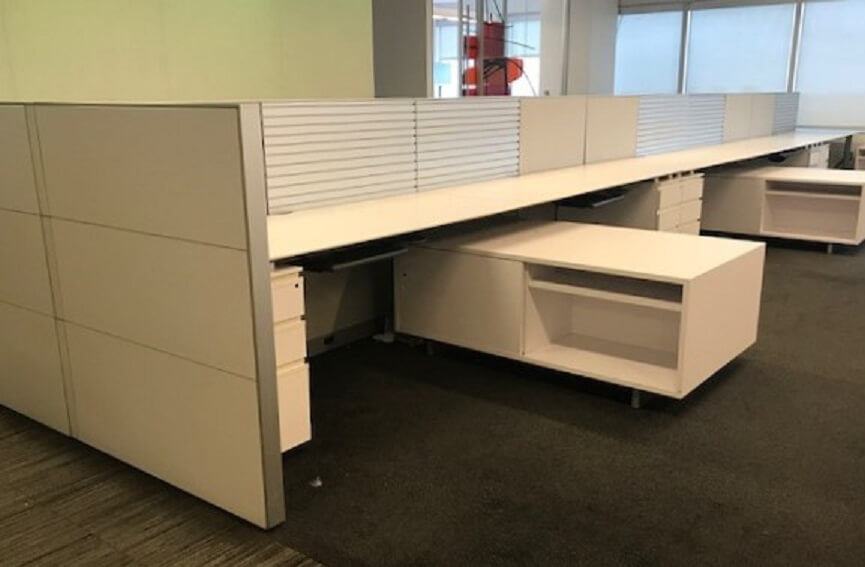 Used Knoll Reff - Low Panels - Used Cubicles