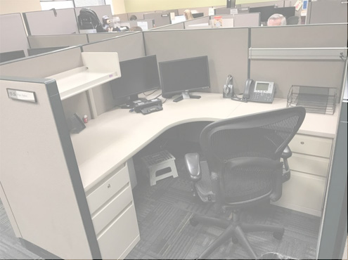 Used Steelcase 9000 Enhanced - Medium Panels - Used Cubicles