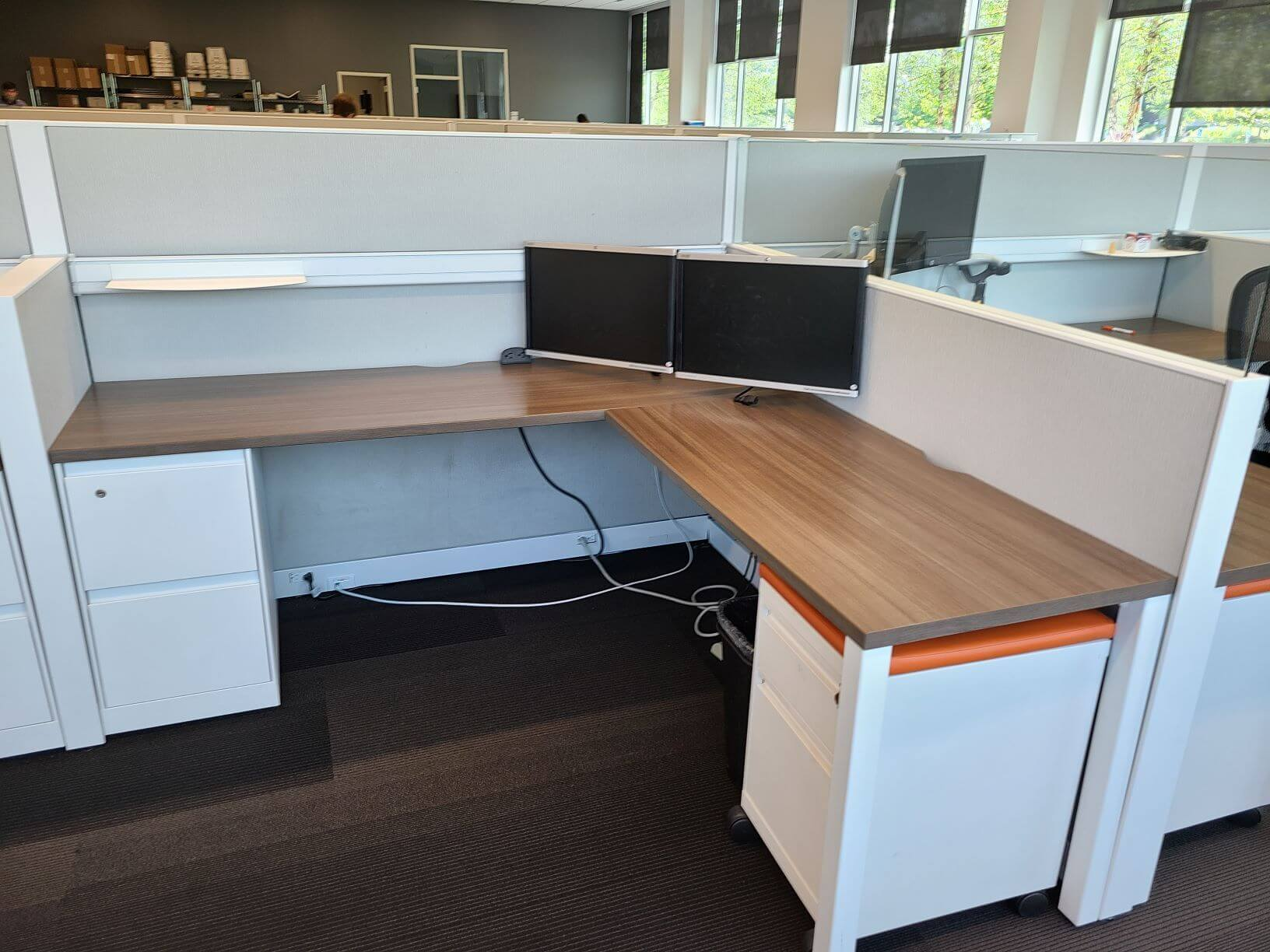 Used Steelcase Answer - Medium Panels - Used Cubicles