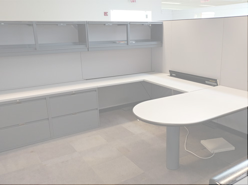 Used Steelcase Elective elements - Tall Panels - Used Cubicles