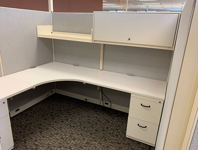 Used Steelcase Enhanced 9000 - Tall Panels - Used Cubicles