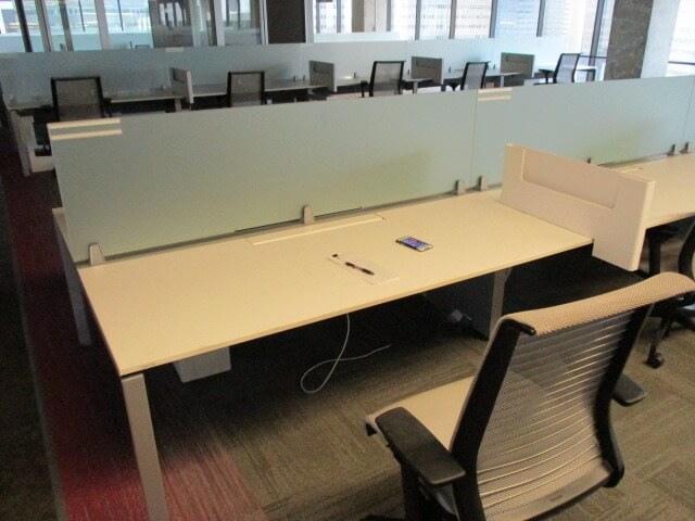 Used Steelcase Frame One - Low Panels - Used Cubicles