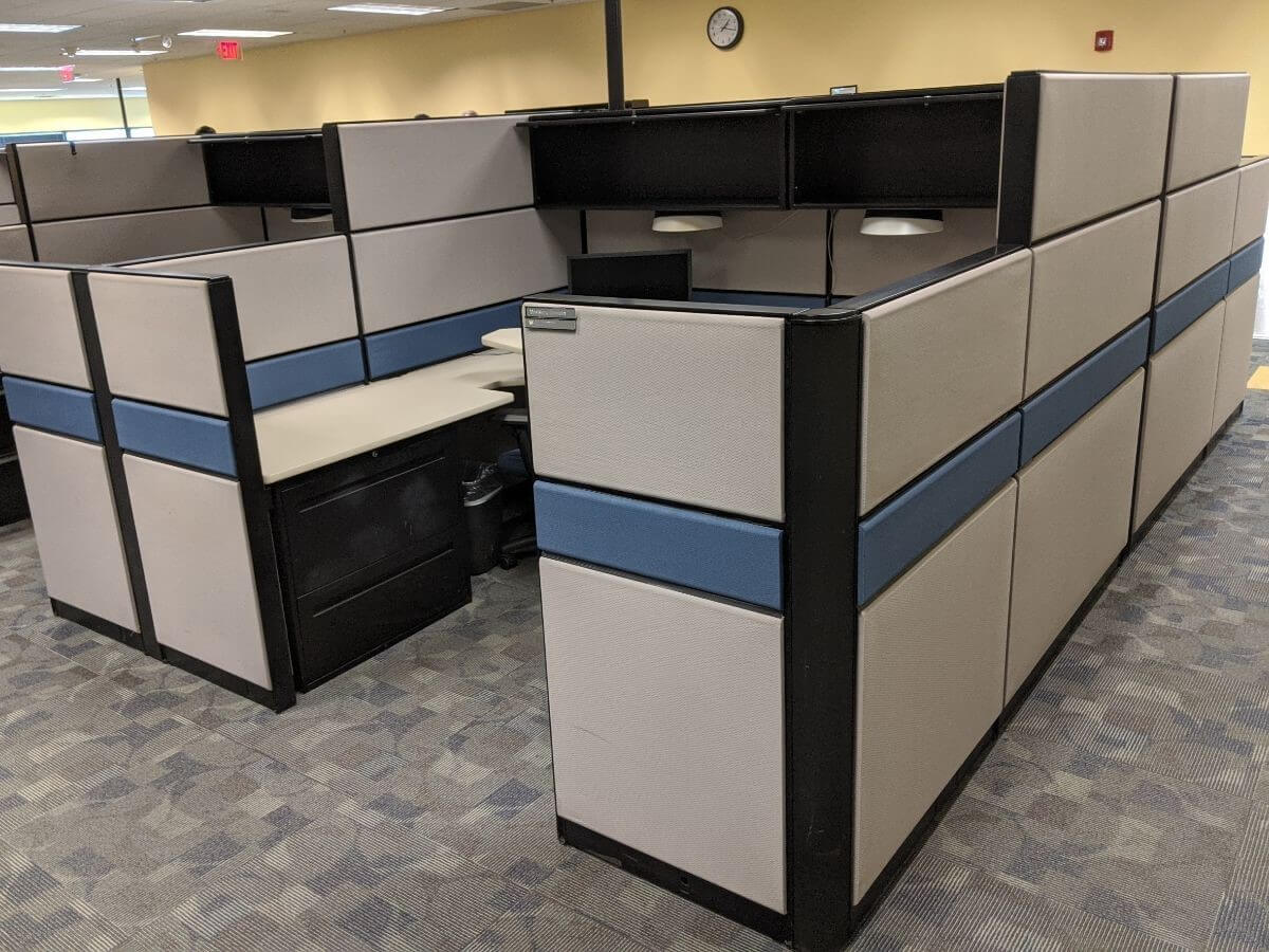 Used Teknion TOS - Combo Panels - Used Cubicles