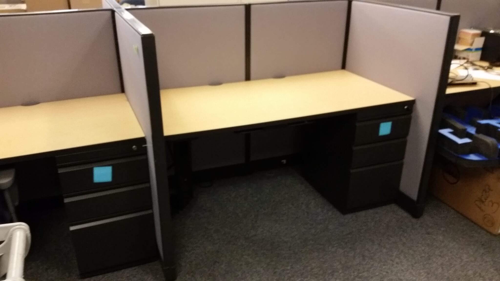 "Used Cubicles For Sale, Trendway Choices 60""W x 36""D x 48""H"
