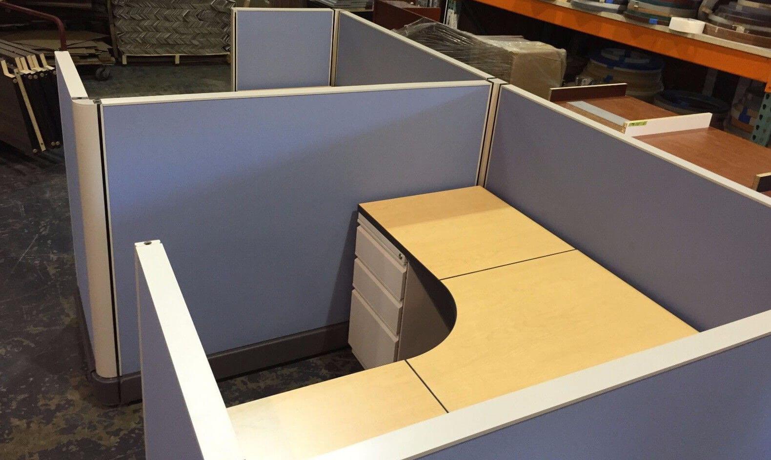 used herman miller ao2 5x5 - low panels