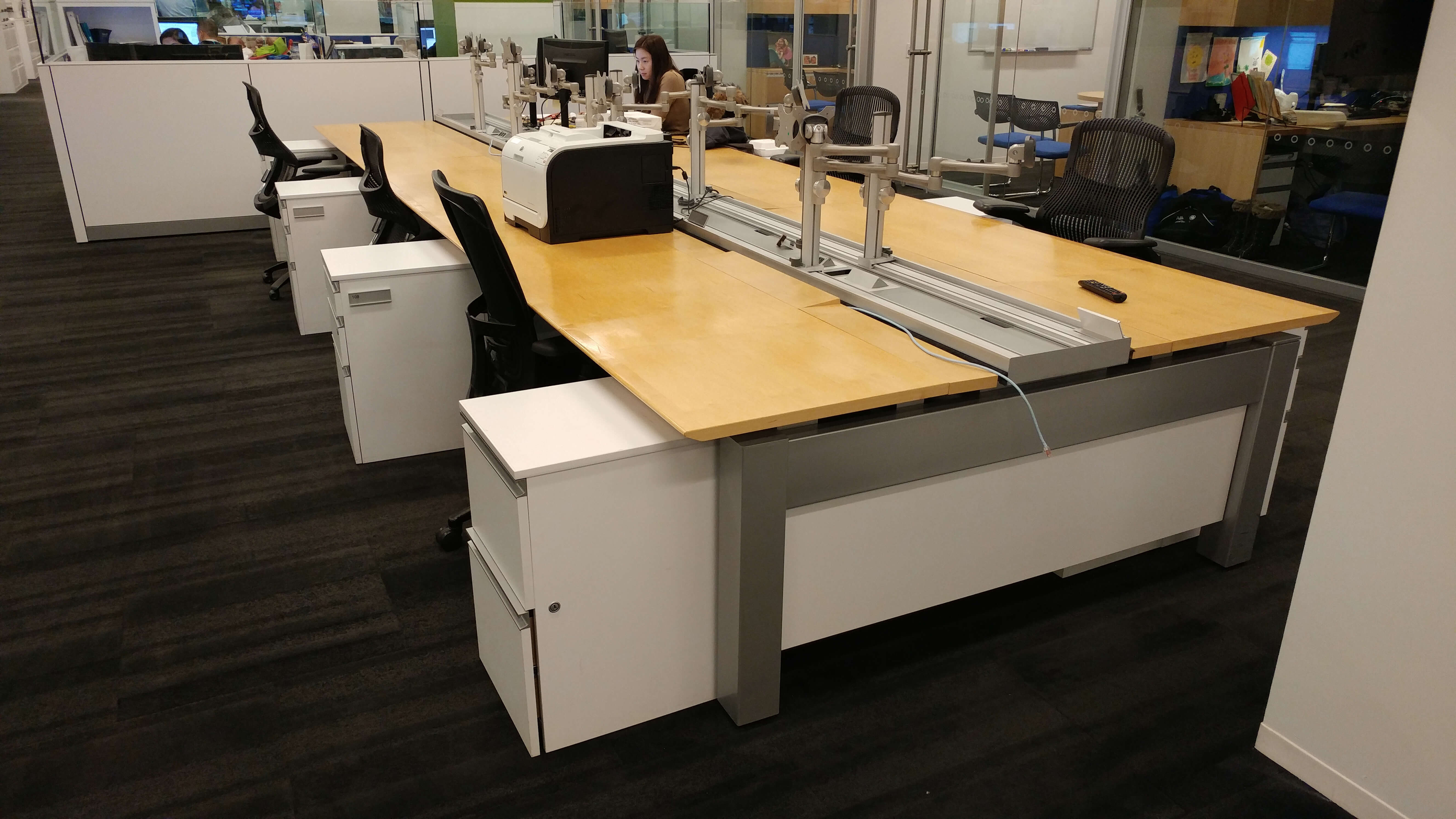 Knoll Benching - Work area