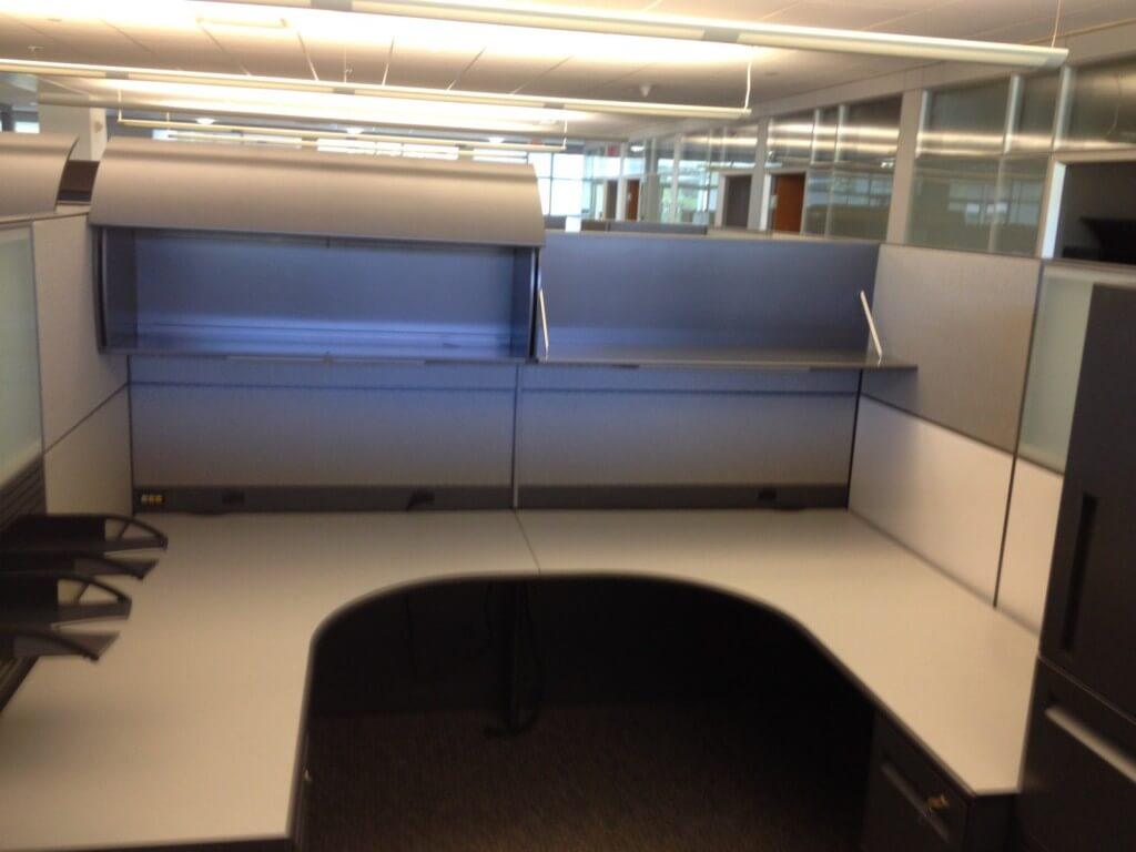Steelcase Workstations 8x8 Used Office Cubicles Used