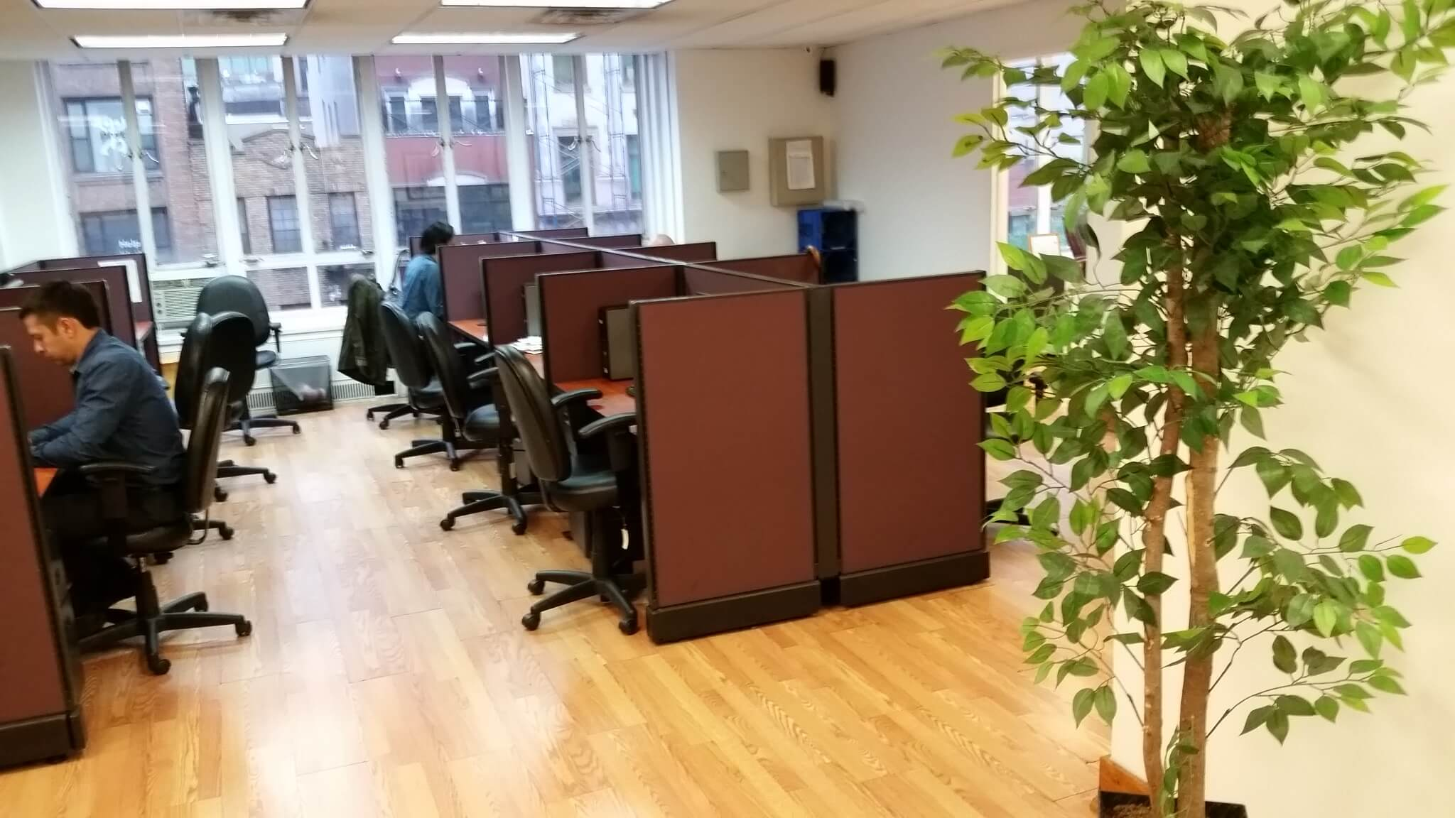 Used Cubicles With Medium Panels From Herman Miller