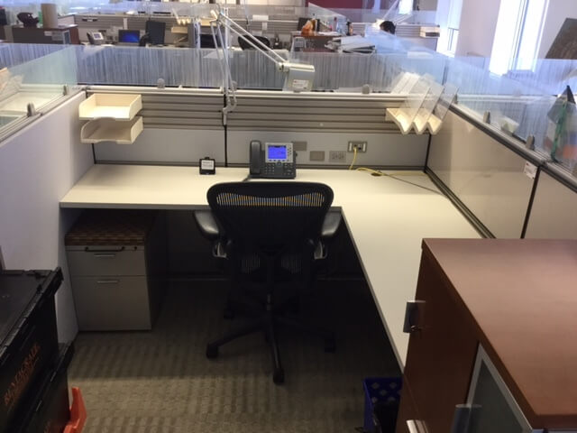 Used Herman Miller Ethospace 6 5x8x48h Medium Panels