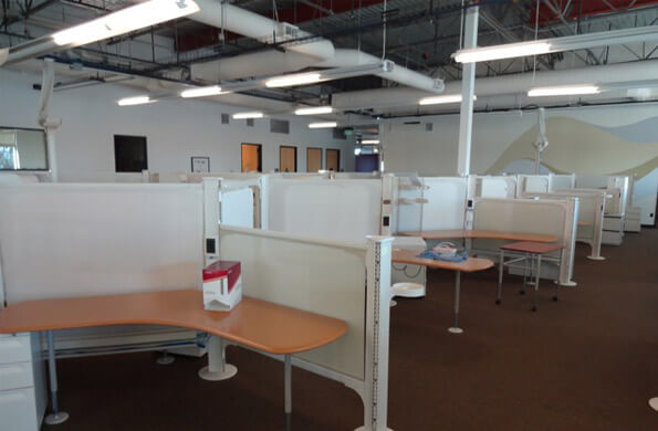 Herman Miller Resolve 10x6 Used Office Cubicles Used
