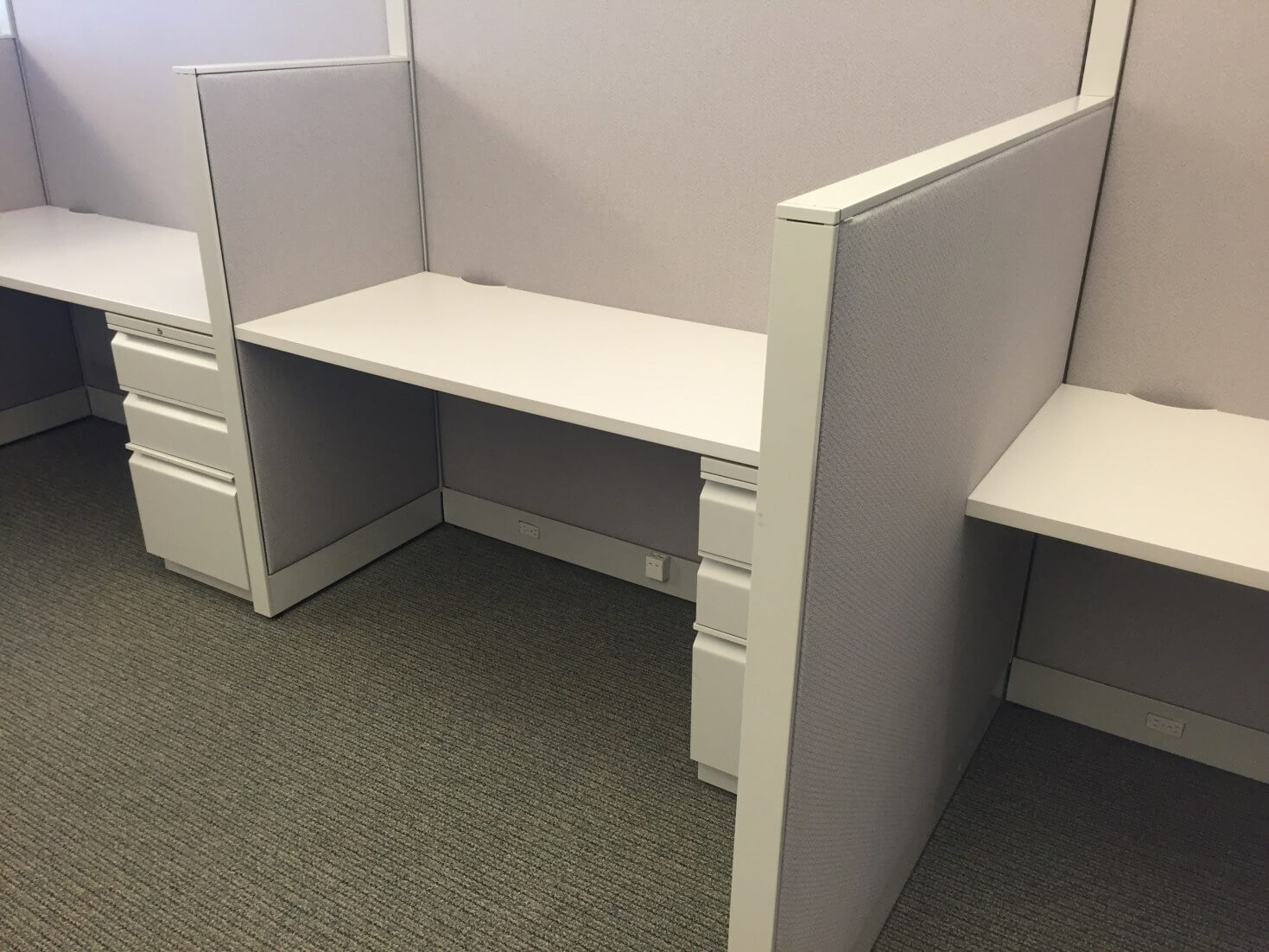 Used Hon Initiate 5x4x65 48h Combo Panels Used Cubicles