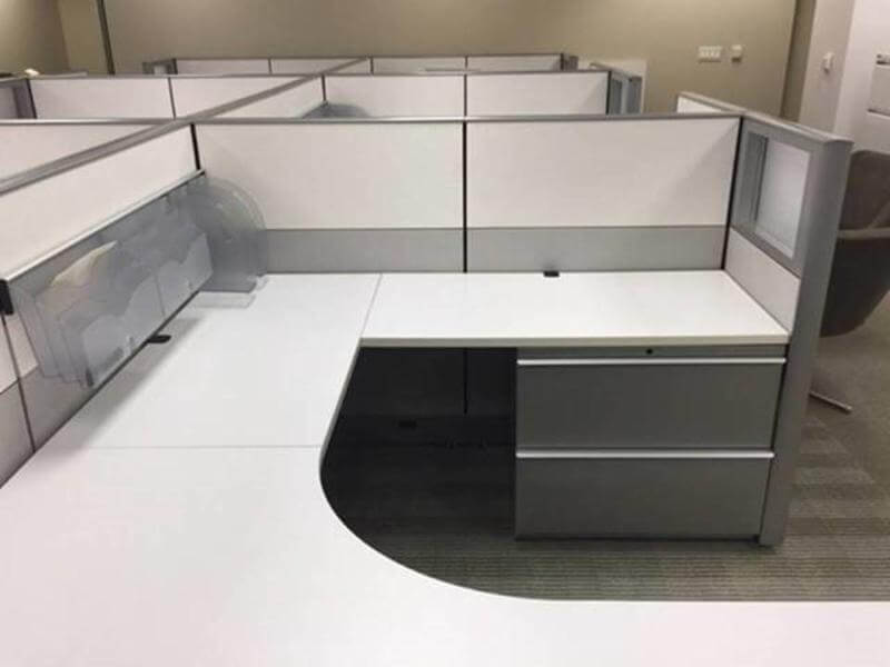 used knoll dividends 6x8x50h - medium panels