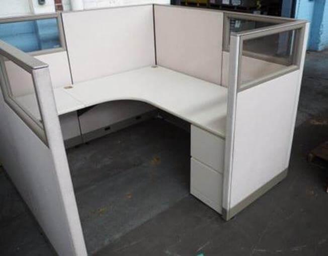 Used Knoll Morrison 6x6 Medium Panels Used Cubicles