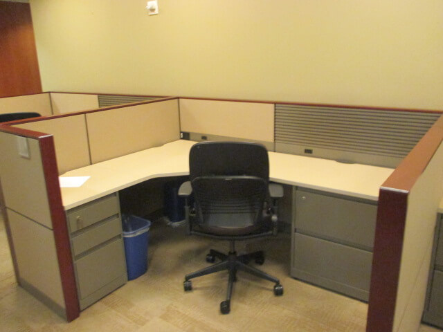 Used Steelcase Montage 7 5x5 5 Low Panels Used Cubicles