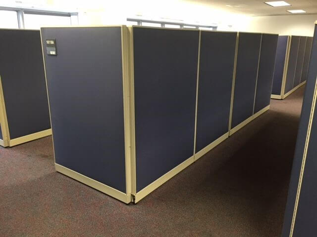 Used Haworth Unigroup 8x8 Tall Panels Used Cubicles
