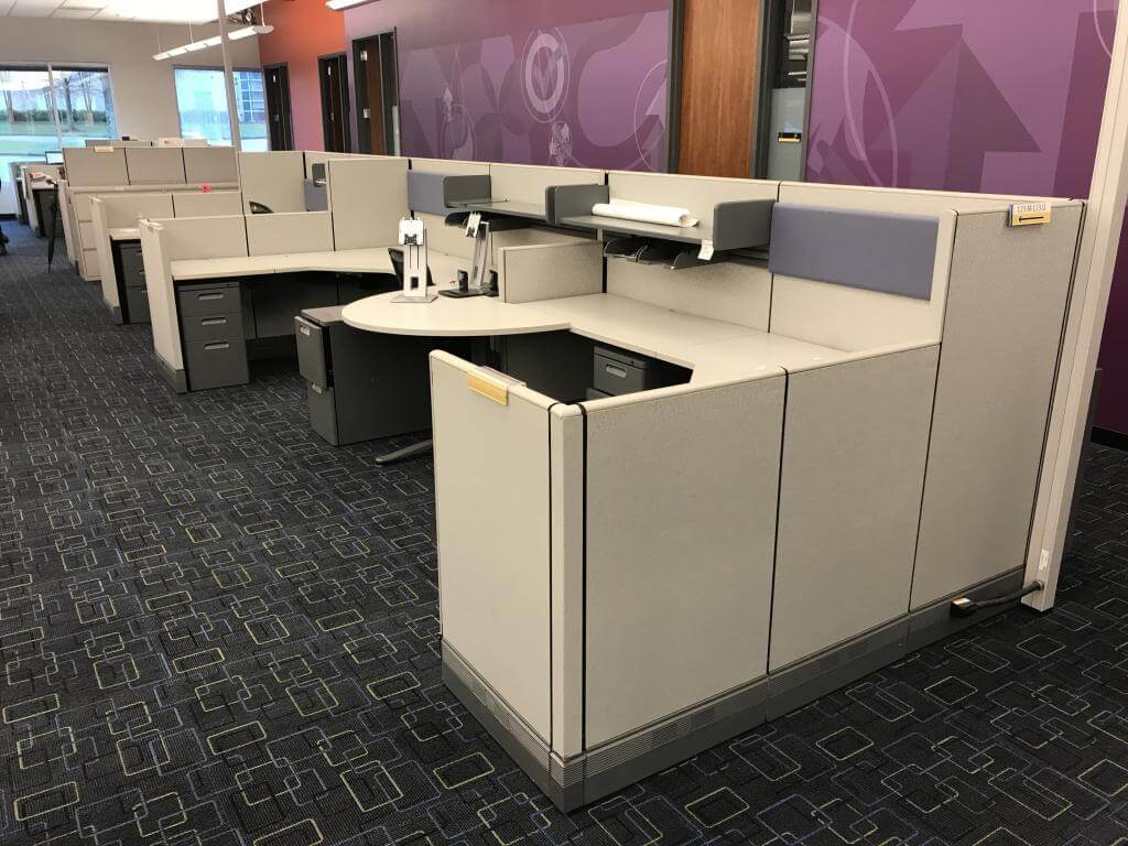 Herman Miller AO3 - Used Cubicles