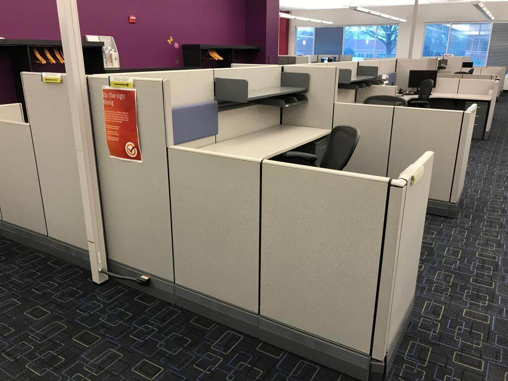 Herman Miller AO3 - Office Layout