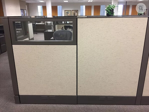 Herman Miller Q - Panel With Glass