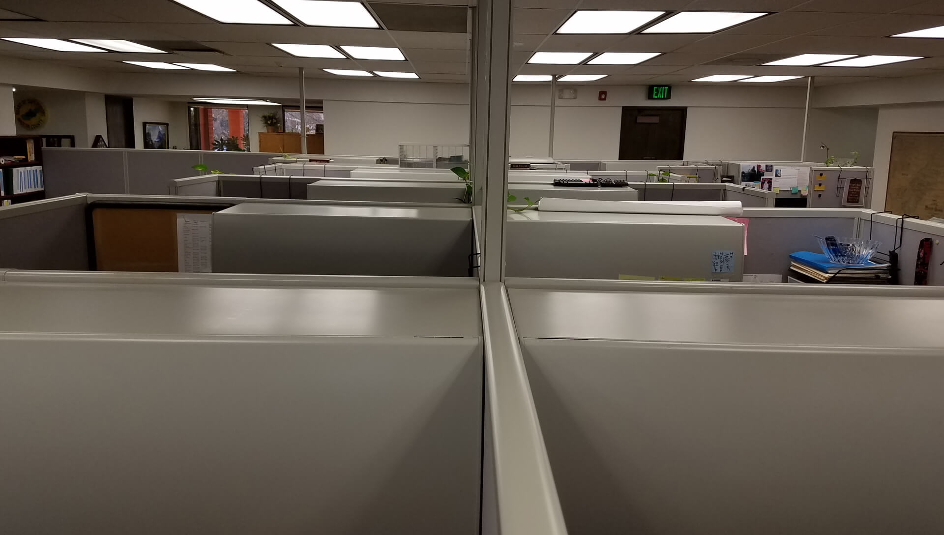 Used Hon Initiate Cubicles Tall Panels Used Cubicles