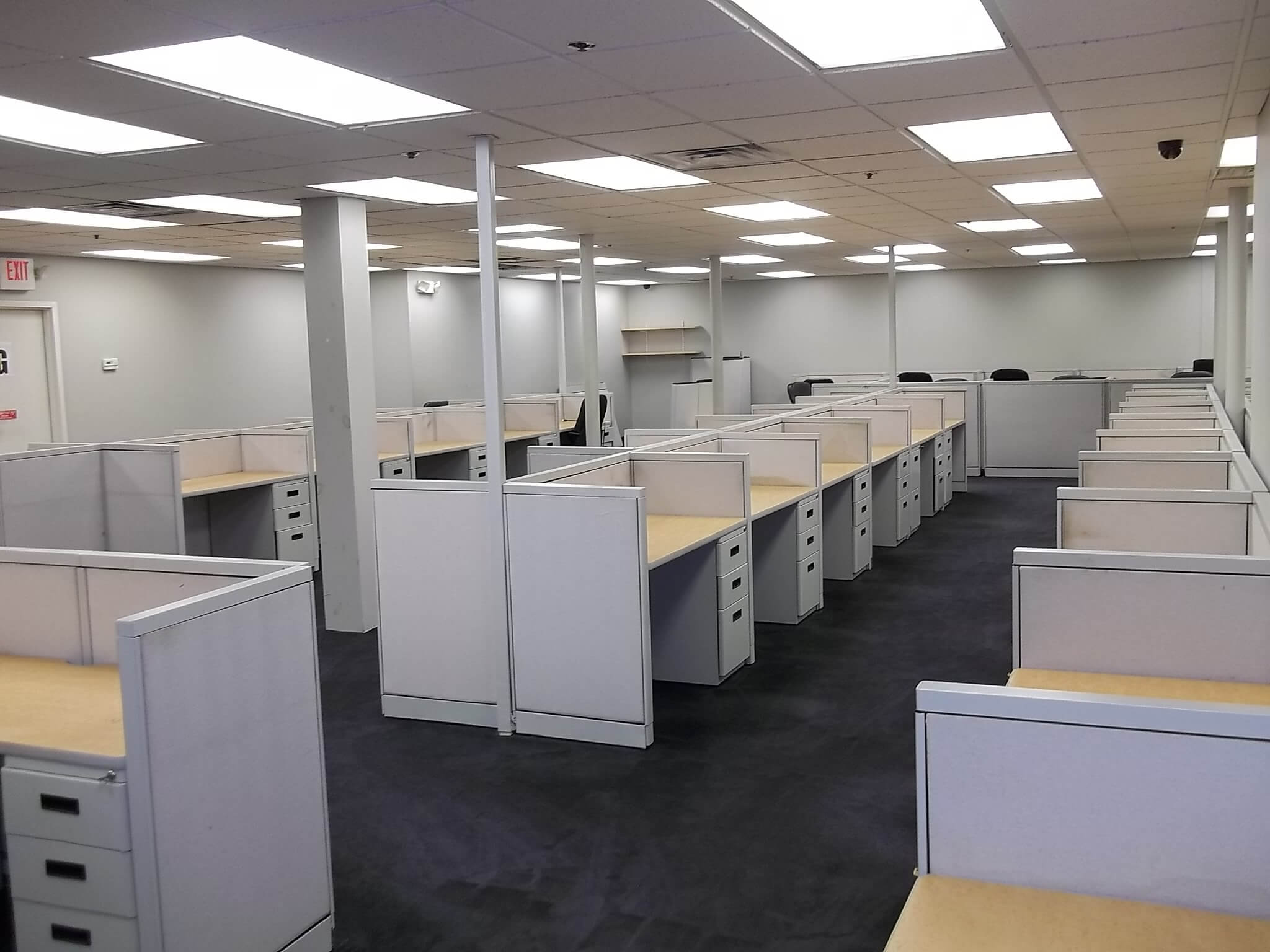 Steelcase Avenir 2x4 Used Office Cubicles Used Cubicles