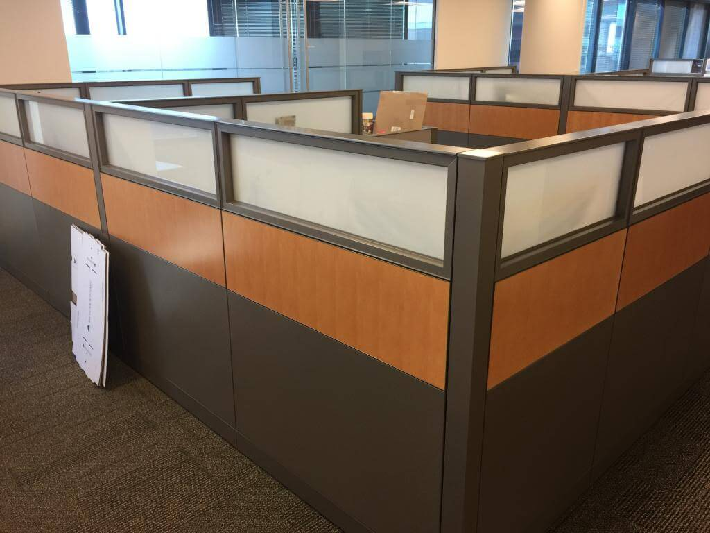 Used Steelcase Answer Cubicles Medium Panels Used Cubicles