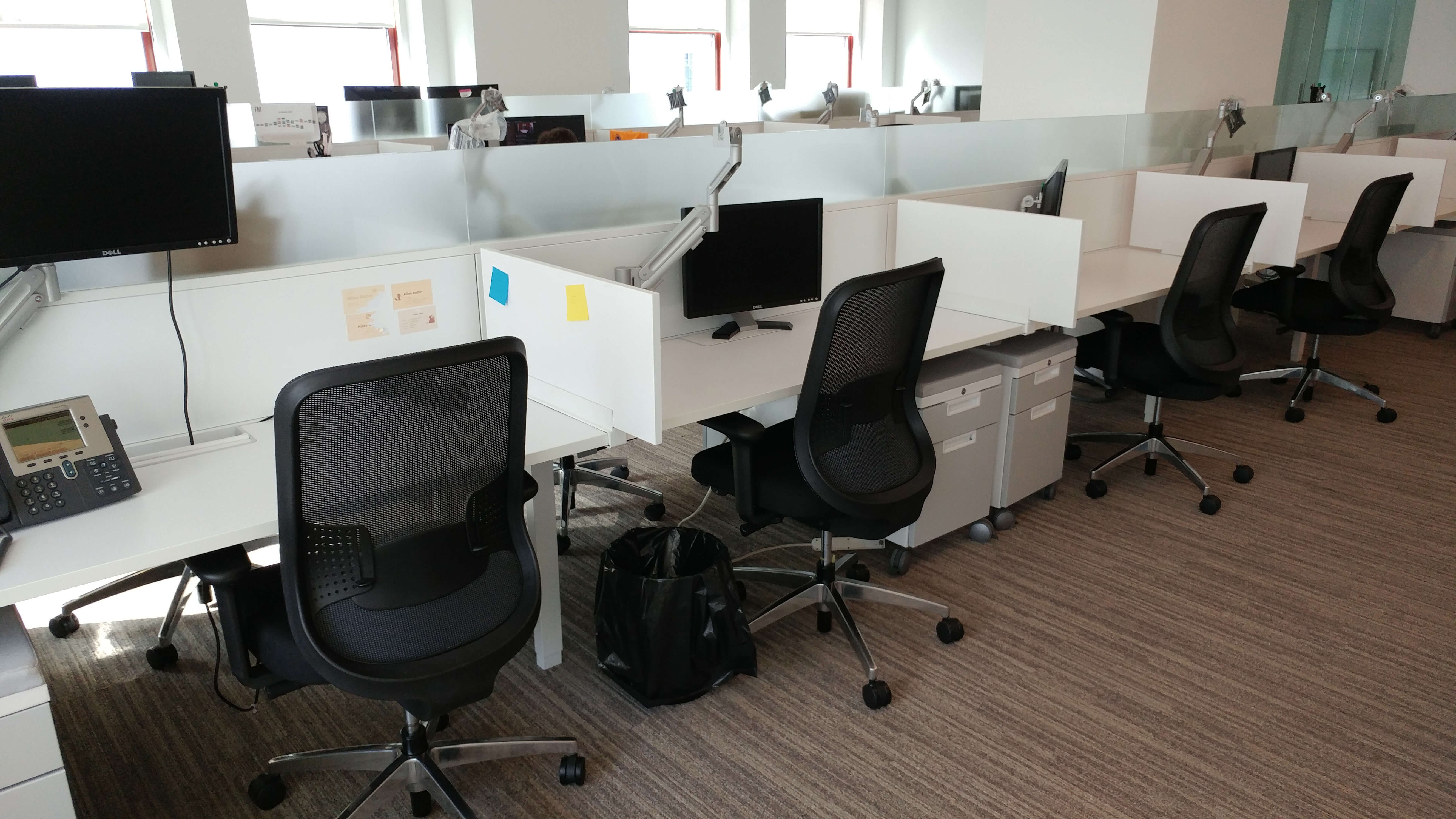 Teknion Expansion - Privacy Benching