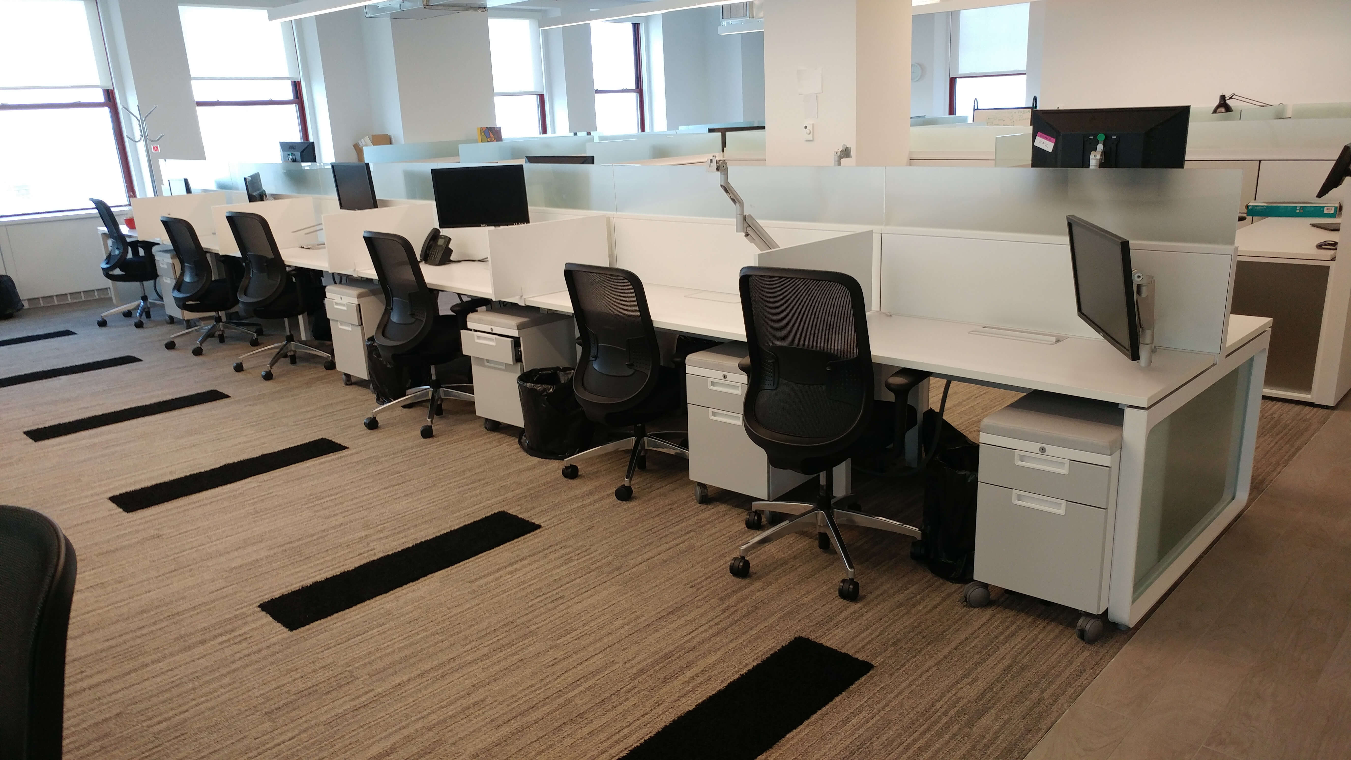 Teknion Expansion - Office Layout