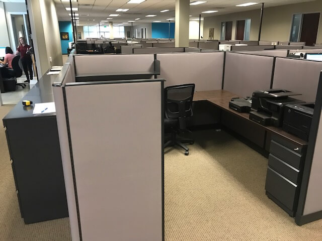 Used Trendway Cubicles - Office Alignment
