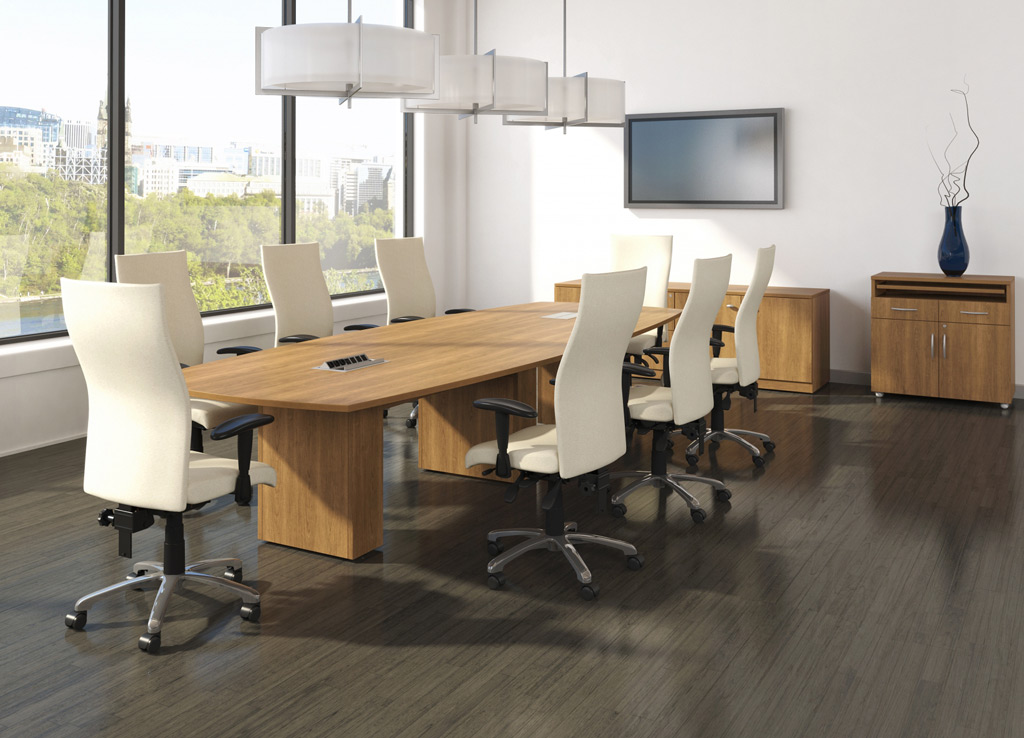 Boardroom table - Logiflex Conference Room Furniture