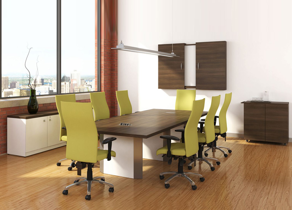 Commercial Office Furniture - Logiflex Conference Room Furniture
