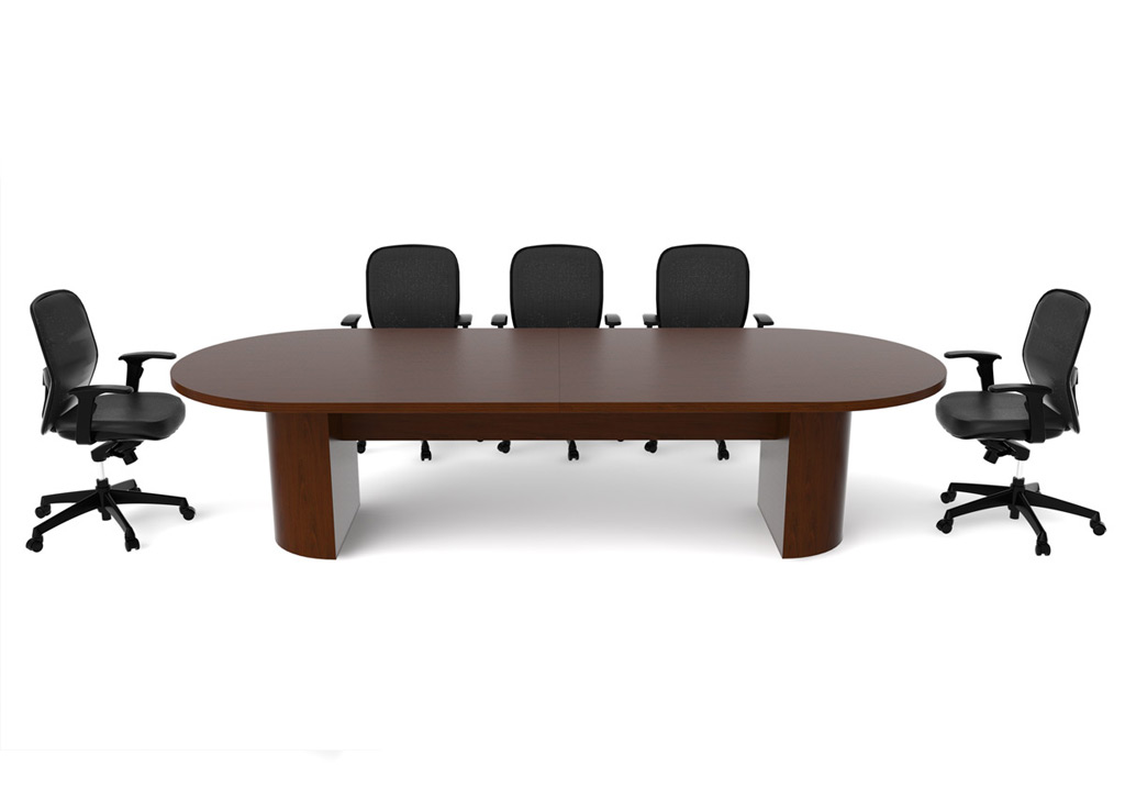 Solid Wood Office Furniture - Jade Conference Room Furniture (Veneer Tops)